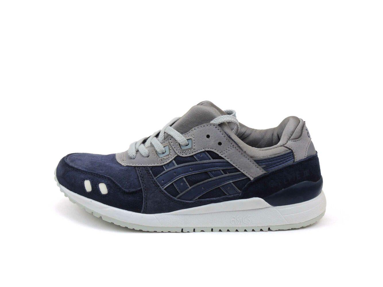 интернет магазин asics gel lyte 3 III grey dark blue