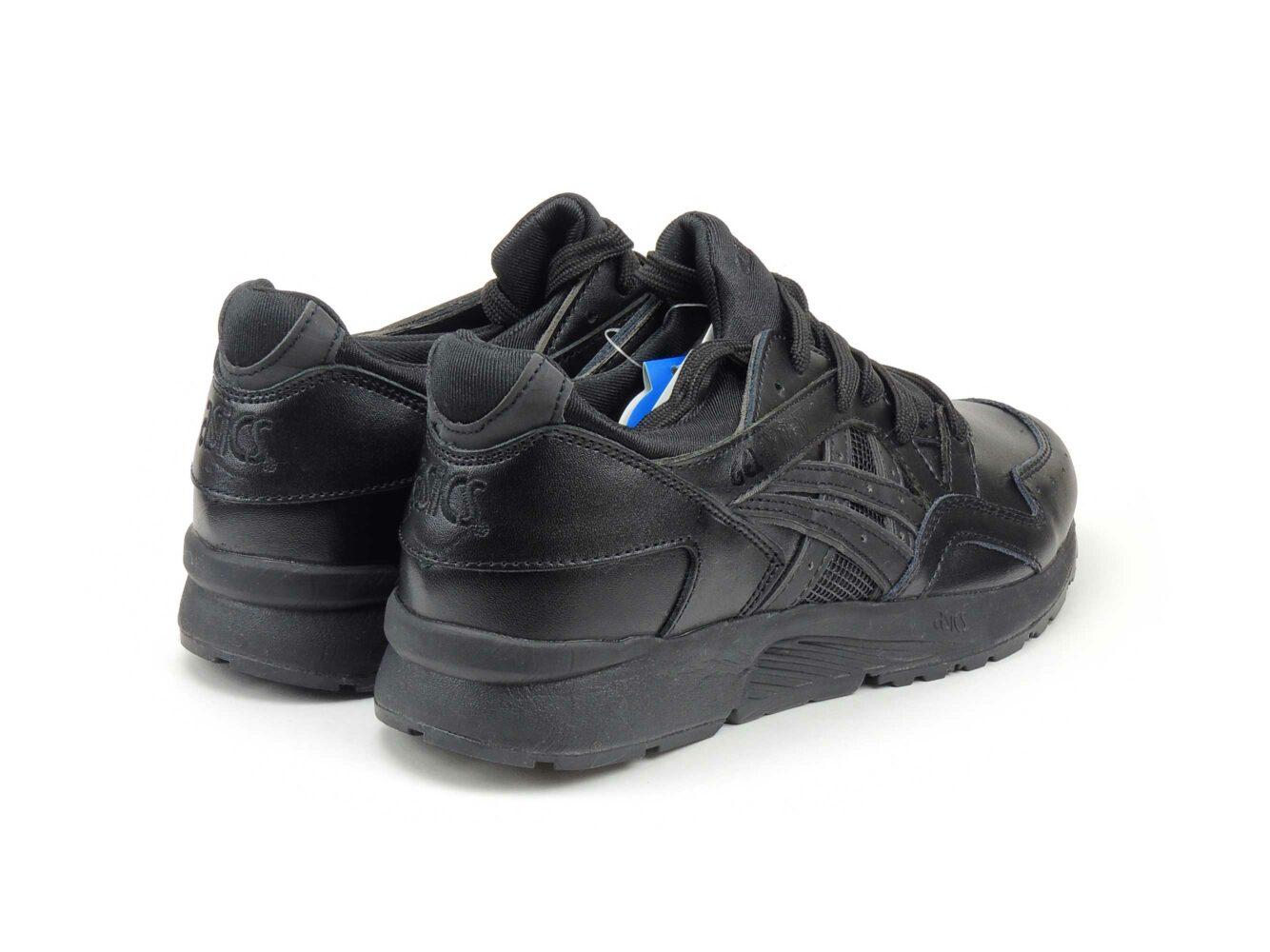 интернет магазин asics gel lyte V 5 lether all black H90143-3621