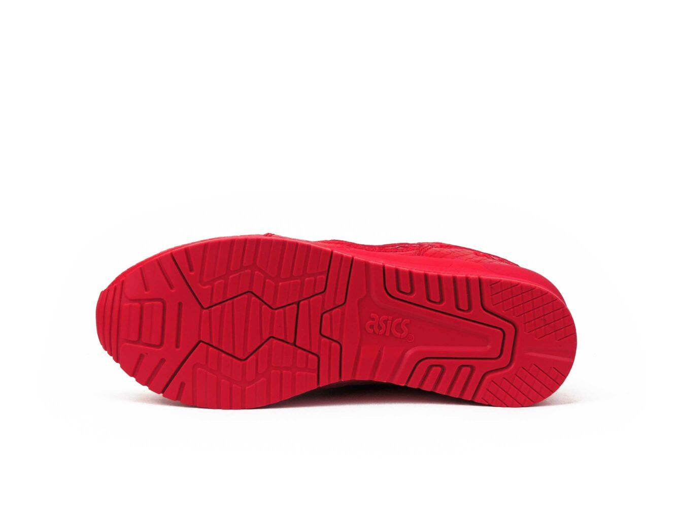 asics gel lyte lll 3 snake all red H52EK-2727 купить