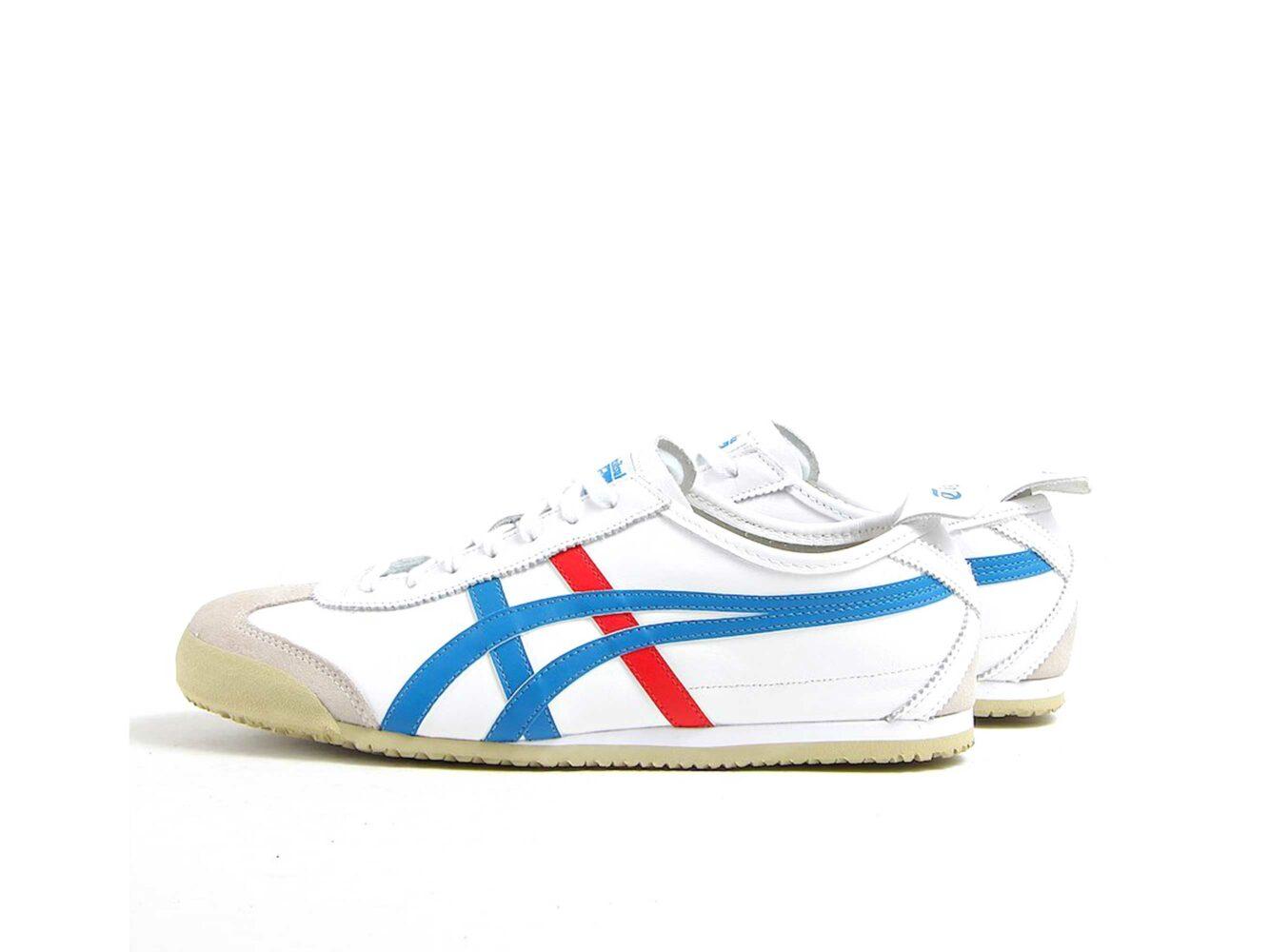 onitsuka tiger mexico 66 white blue купить