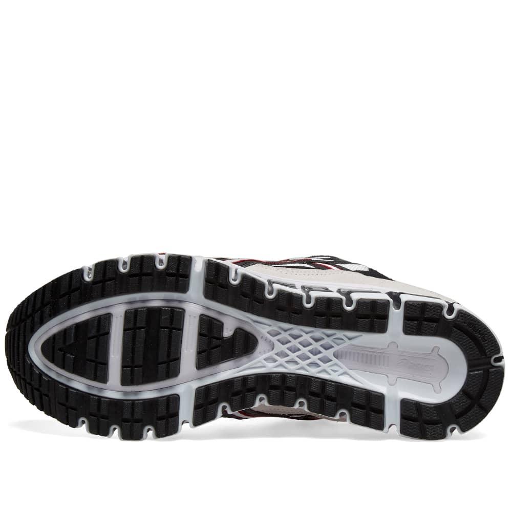 asics gel kayano 5 360 white black 1021a160-100