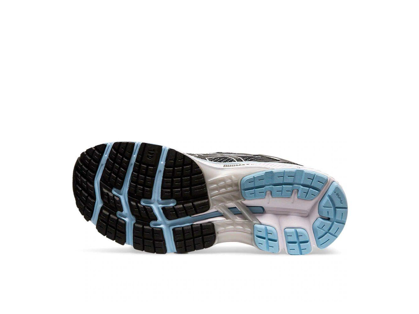 asics gel kayano 26 black heritage blue 1011A541 купить