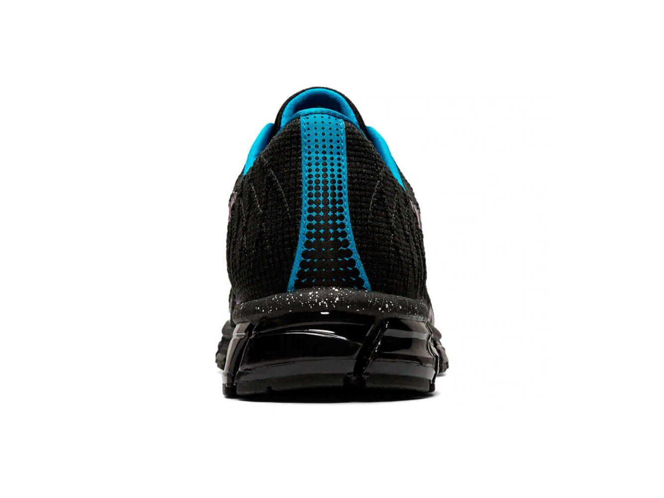 asics gel quantum 180 4 black blueT728N купить
