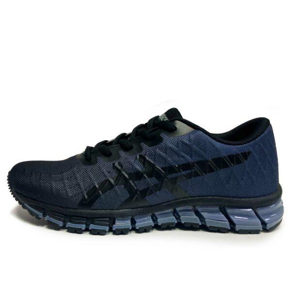 asics gel quantum 180 4 black blue T728Nbd купить