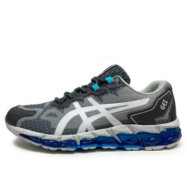 asics gel quantum 360 5 grey blue 1021A337 купить